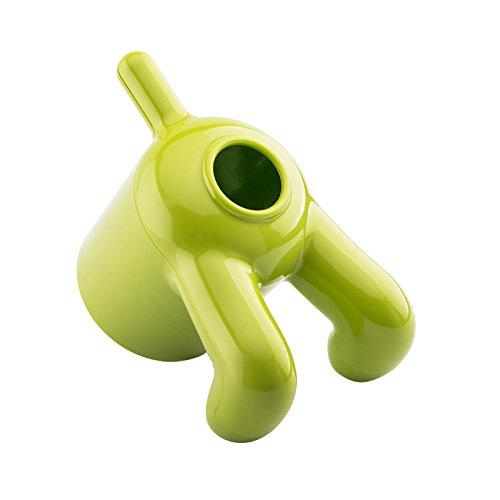 Witziger Toilettenpapierrollenbezug und Papiertuchspender in Form eines Hundes mit selbstklebendem Klebeband, einfache Installation grün