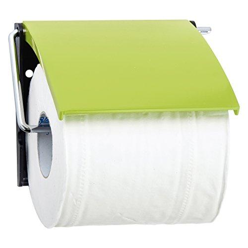 MSV Toilettenpapierhalter aus Polystyrol in grün, 30 x 20 x 15 cm