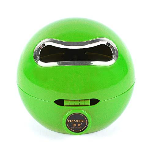 BALLSHOP Emoji Kugel Toilettenpapierhalter Klorollenhalter Klopapierhalter Rollenhalter WC (Grün)