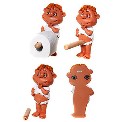 "witziger,lustiger Toilettenrollenhalter ""Jimmy"",Pillermann"