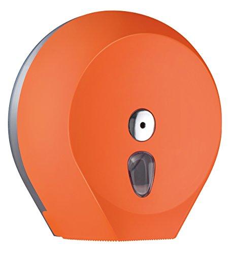 Racon Design Toilettenpapierspender für Großrolle Ø 29 cm - Abschließbar - Orange