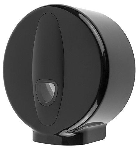 PlastiQline 2020 Großrollenspender - Mini - abschließbar - schwarz - max. Ø 240 mm