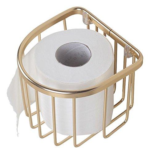 Paste mit Wall Aluminium Toilettenpapierhalter
