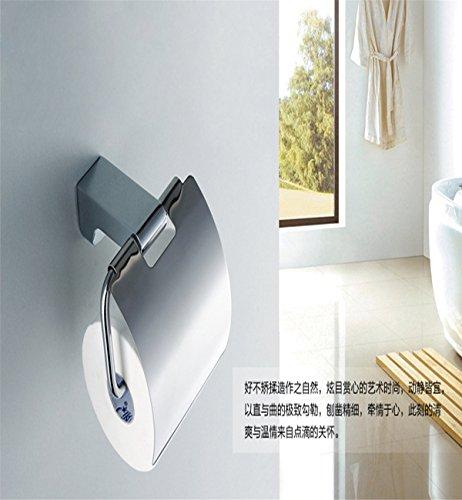 Sucastle® 150*71*159mm Kupfer+Zinklegierung Toilettenpapierhalter, Rollenhalter, Wandhalter Rollenhalter aus Hochwertigem Papierhalter