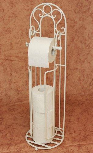 """Toilettenrollenständer """"Increto"""" Weiß 92100 Toilettenpapierhalter Rollenständer"""