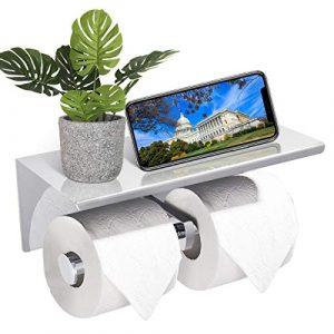 Toilettendeckel mit Handyablage