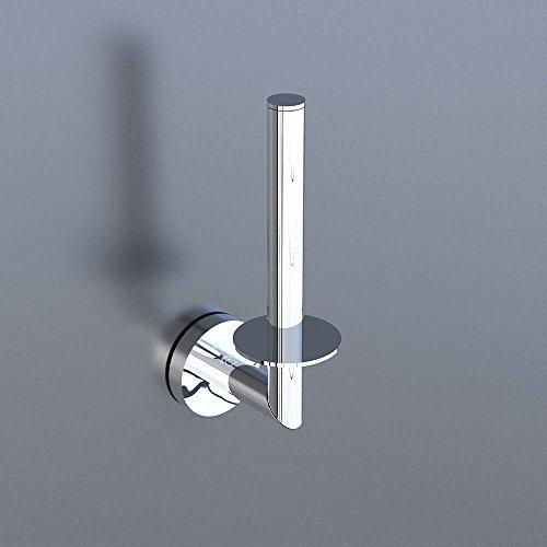 Alpenberger Papierhalter Reserve Toilettenpapierhalter Reserverollenhalter Verchromt Badaccessoires Accessoires
