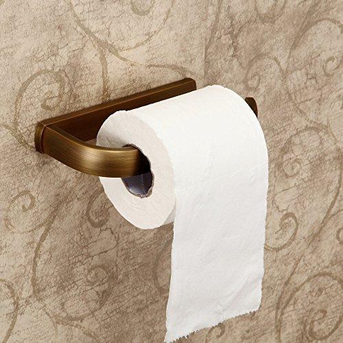 Hiendure ®Hochwertig Wandhalter Toilettenpapierhalt Papierhalter Küchenrollenhalter Toilettenpapierhalter Abdeckung