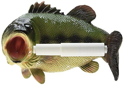 Toilettenpapierhalter - Reeling Forelle Fisch Rustikales Badezimmer-Dekor - Toilettenpapier-Rolle - Badezimmer-Wand-Dekor