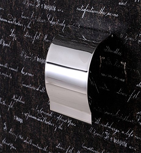 Sucastle® 124*122*128mm rostfreier Stahl Toilettenpapierhalter, Rollenhalter, Wandhalter Rollenhalter aus Hochwertigem Papierhalter